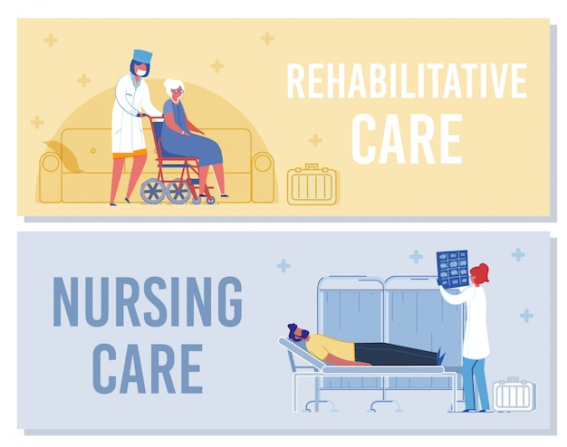 Verpleegster help patient in rehab woman onderzoekt xray