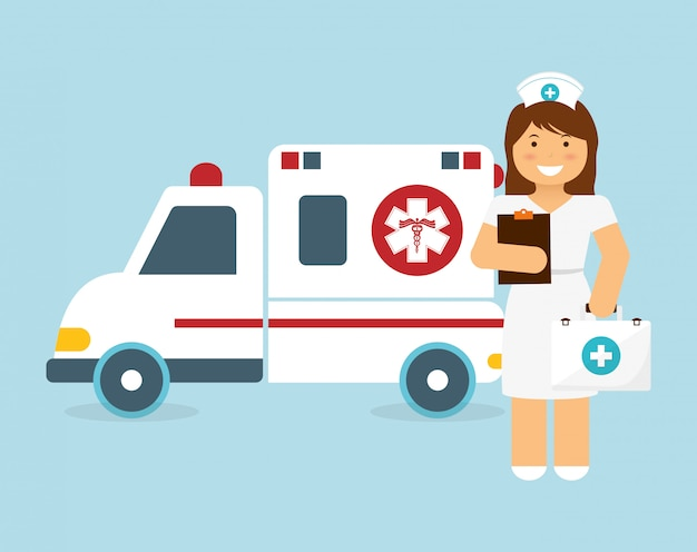 Verpleegsters ontwerp