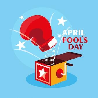 Verrassingsdag voor de dwazen van april