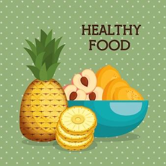 Vers fruit gezond voedsel