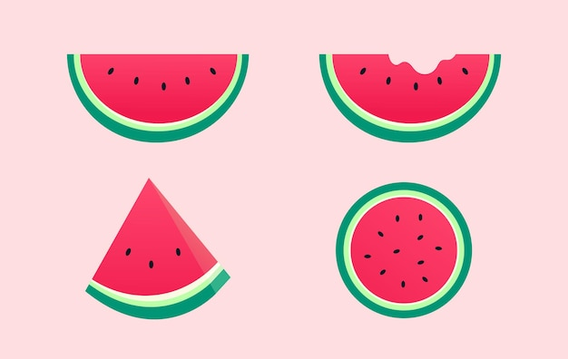 Vers stuk watermeloen
