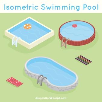 Verscheidenheid van zwembaden