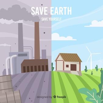 Verschil tussen hernieuwbare energiebronnen en niet hernieuwbare energiebronnen