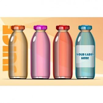 Verschillende flessen