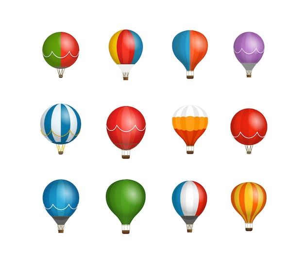 Verschillende kleuren ballonnen vector clipart