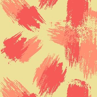 Verschillende penseelstreken patroon