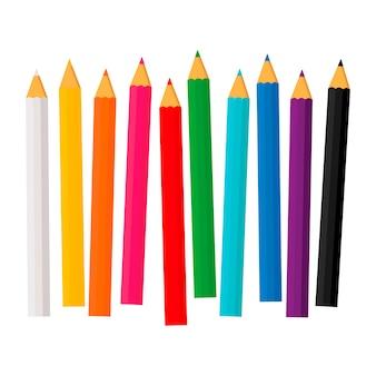 Verschillende potloden set