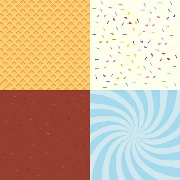 Verschillende texturen instellen