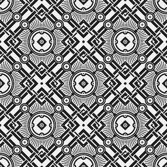 Verschillende vormen patroon achtergrond