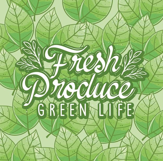 Verse producten groen leven
