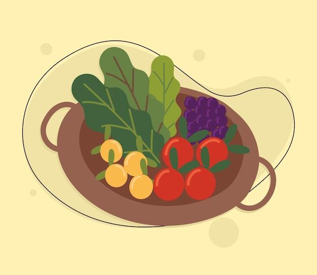 Verse voedselgroenten