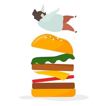 Verslaafd aan junkfood en snacks
