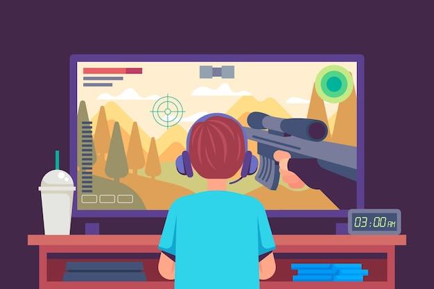 Verslaving aan online games