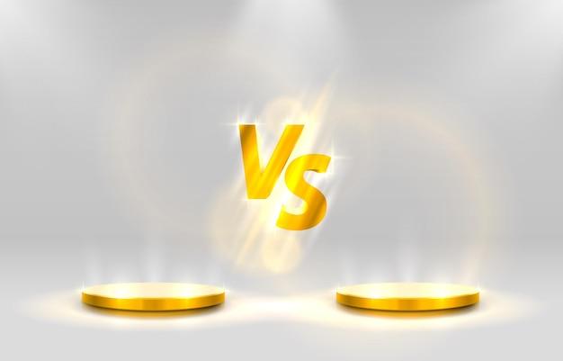 Versus gamecover, bannersport vs, teamconcept