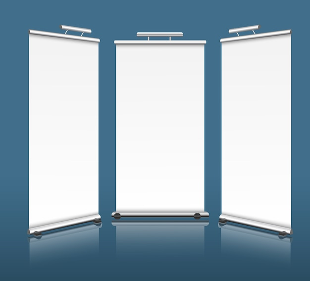 Verticale banners
