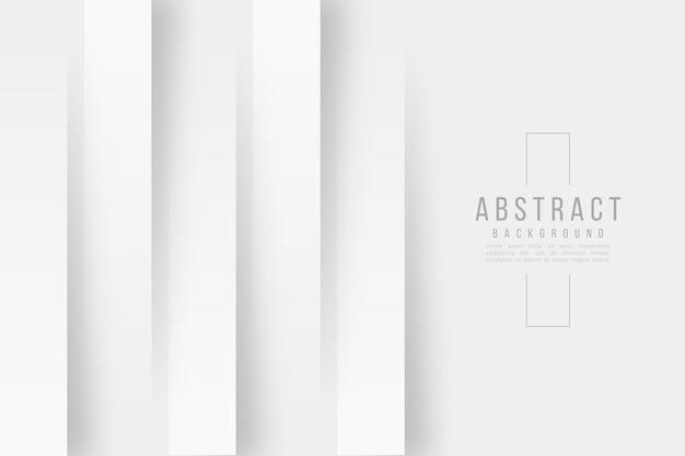 Verticale lijnen 3d-papier stijl achtergrond