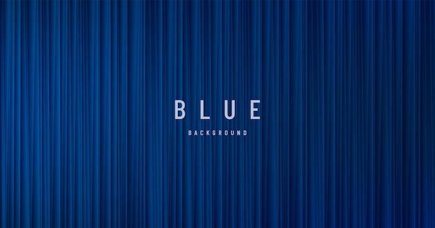 Verticale snelheid strepen lijnen patroon op donker marineblauw abstracte achtergrond grunge textuur banner