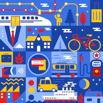 Vervoer concept