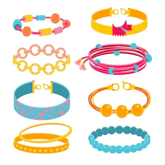Verzameling accessoires