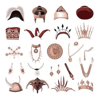 Verzameling attributen van heersers