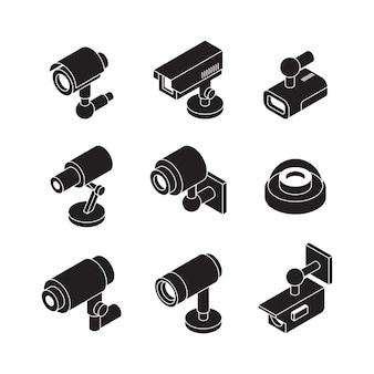 Verzameling beveiligingscamera's