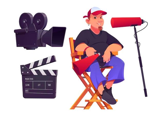 Verzameling cartoonfilmregisseur