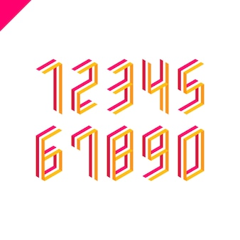 Verzameling isometrische sportnummers