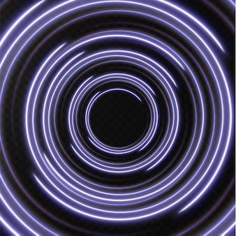 Verzameling lichtblauwe halftoonlijnen radiale blauwe vectorlijnen van snelheid vectorillustratie