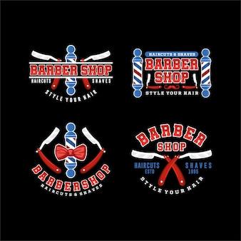 Verzameling logo sjablonen