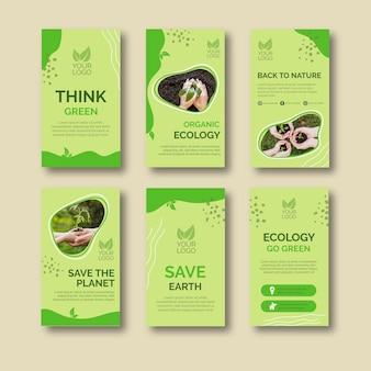 Verzameling organische ecologie berichten
