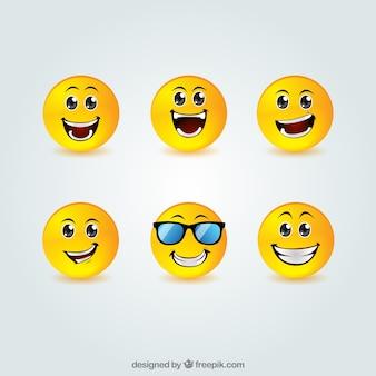 Verzameling smiley