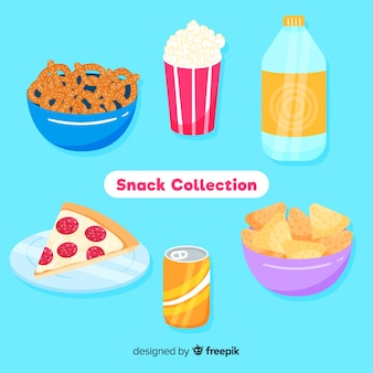 Verzameling snacks