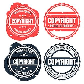 Verzameling van auteursrechtzegels