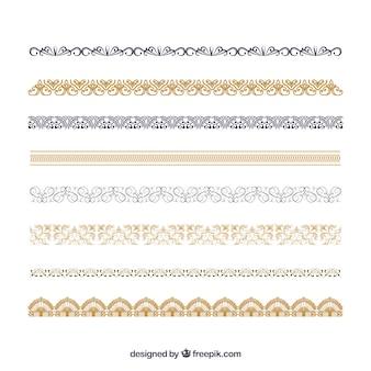 Verzameling van certificaat ornamenten