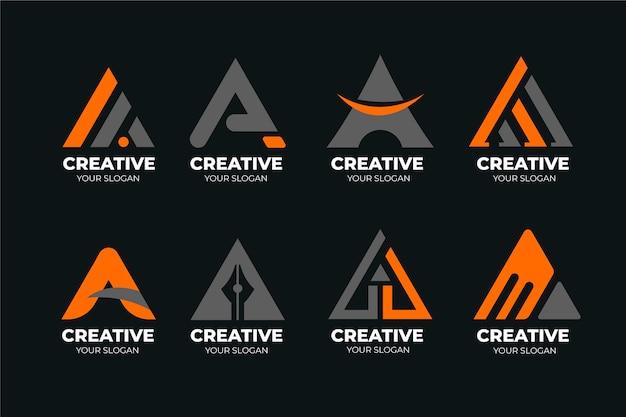 Verzameling van een logo-sjablonen