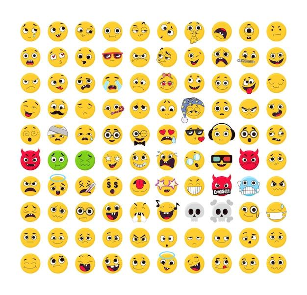 Verzameling van emoticons