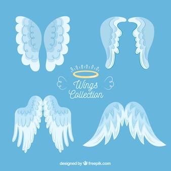 Verzameling van engelvleugels