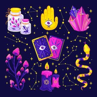 Verzameling van interessante esoterische elementen