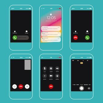 Verzameling van interfaces voor smartphone