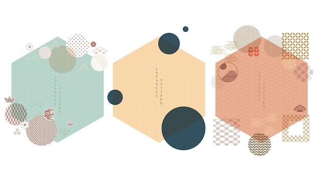 Verzameling van japans design