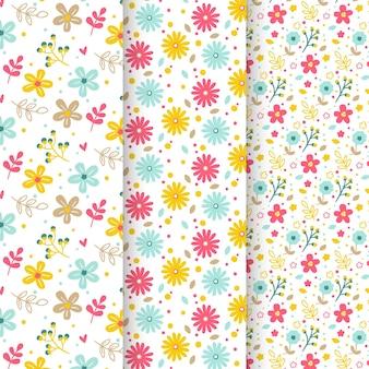 Verzameling van lente patronen
