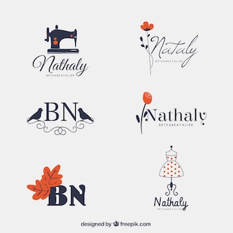 Verzameling van leuke logo's
