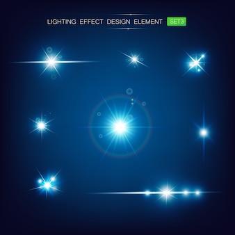 Verzameling van lichteffect
