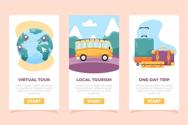 Verzameling van lokale toeristische ideeën