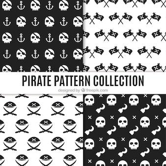 Verzameling van piraat patroon