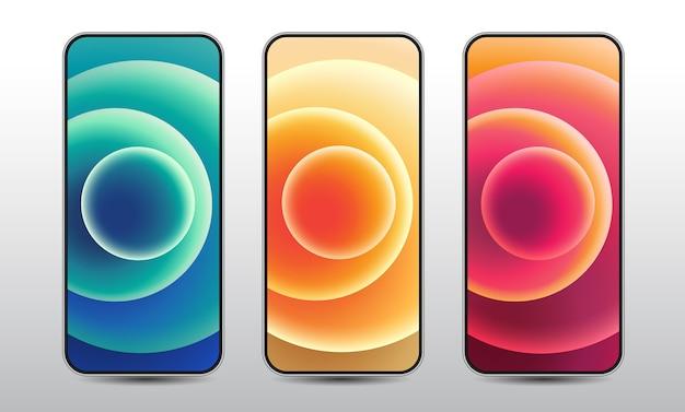 Verzameling van smartphones