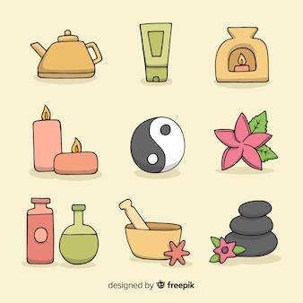 Verzameling van spa-elementen