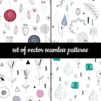 Verzameling van vector naadloze patronen