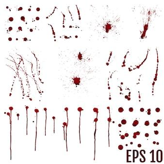 Verzameling van verschillende bloed