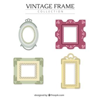 Verzameling van verschillende realistische frames